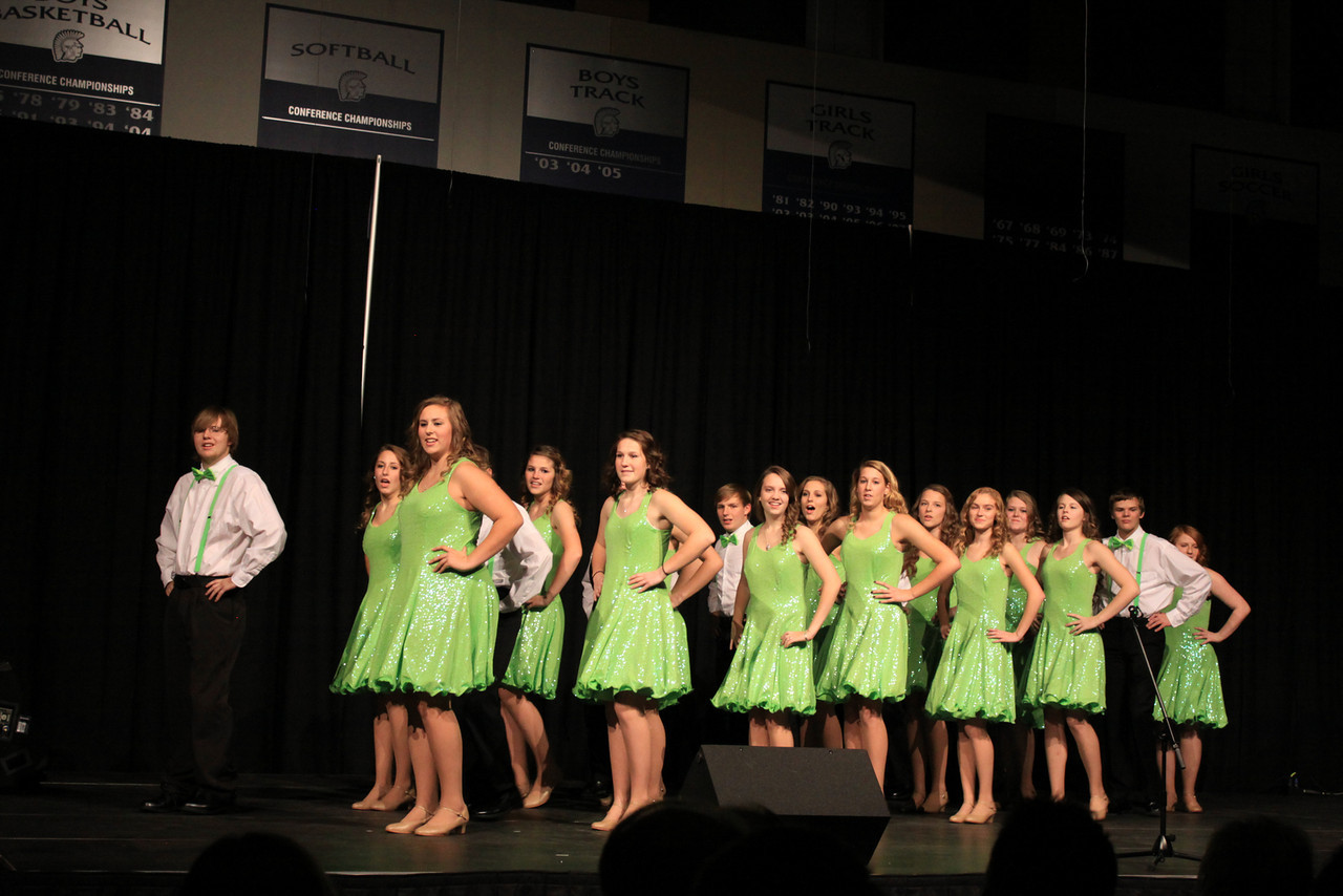 Performing at the Choral Festival