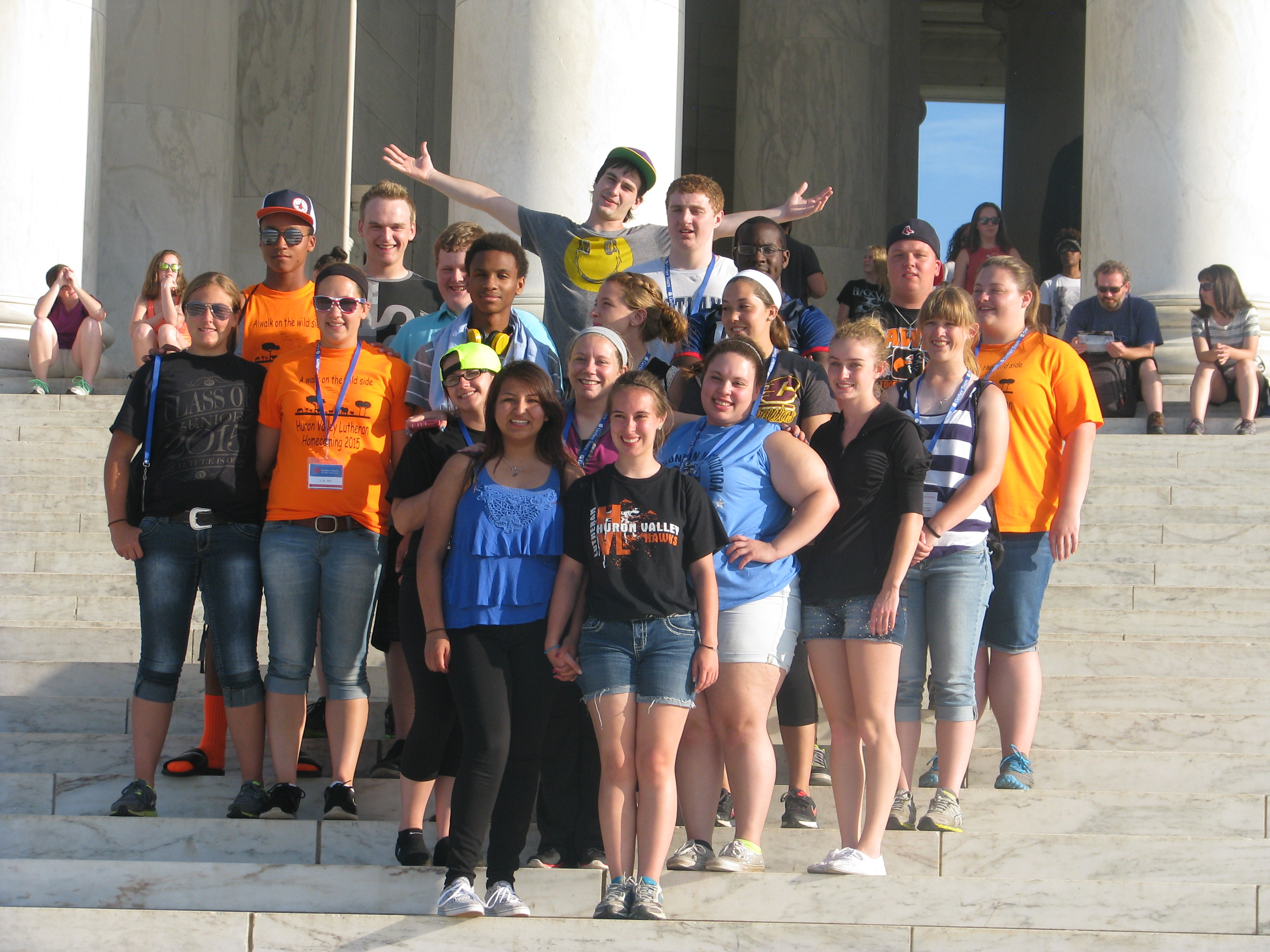 Senior Class in Washington DC